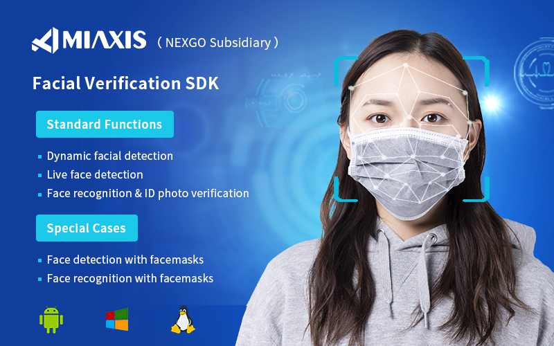 MIAXIS BIOMETRICS Upgrades Biometric Facial Recognitin SDK to Work with Facemasks