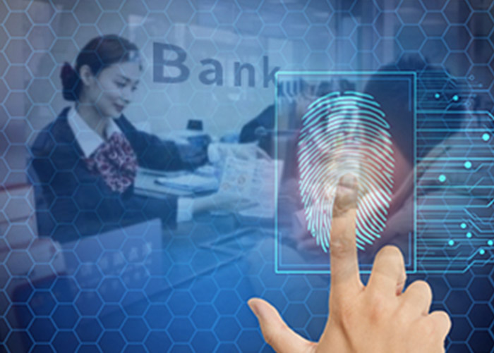 Bank Teller Fingerprint Identification System
